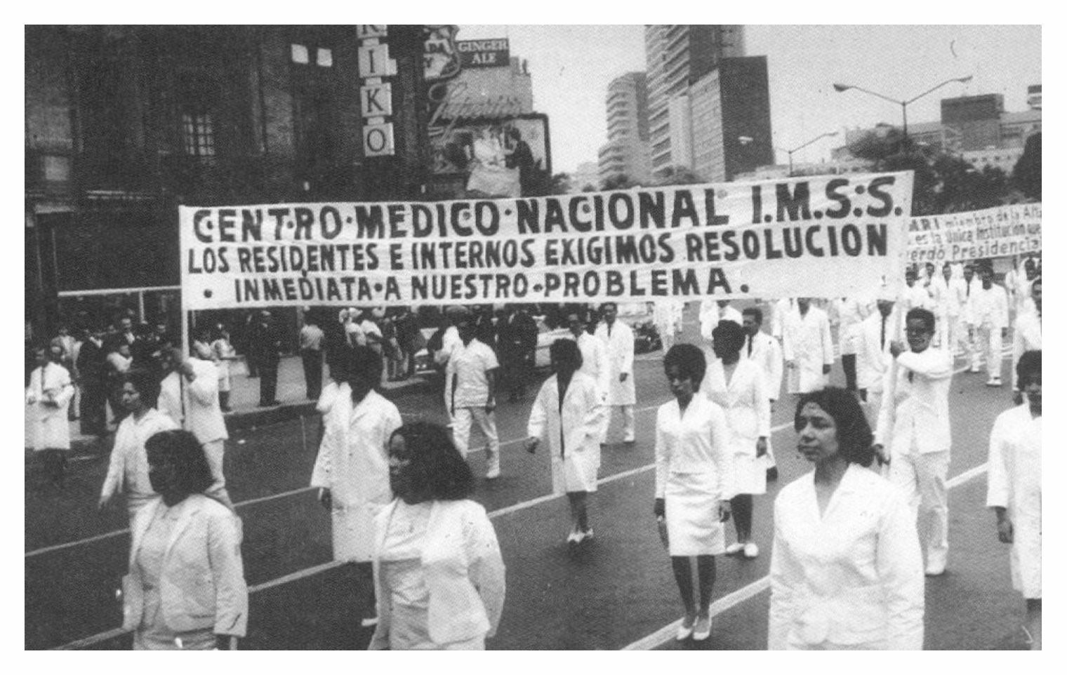 Marcha IMSS México, 1960