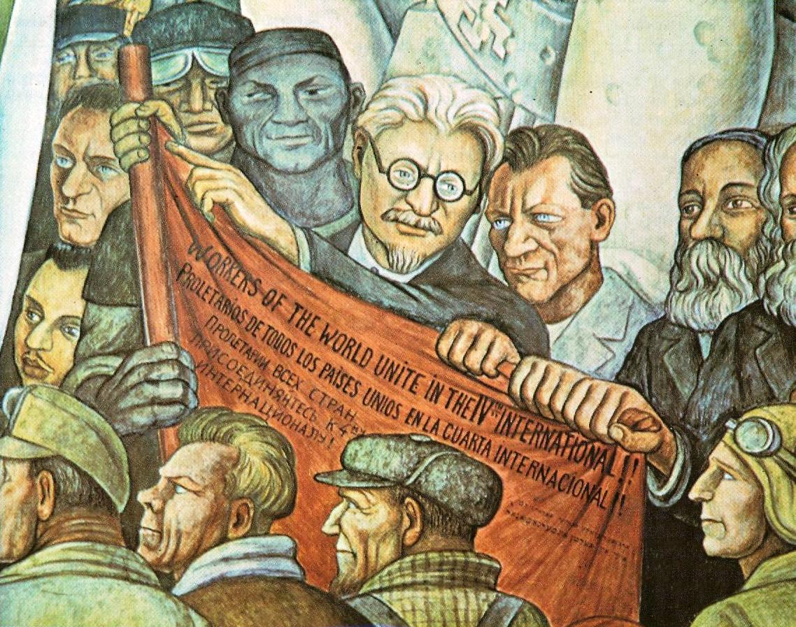Resultado de imagen para rivera asesinato de trotsky